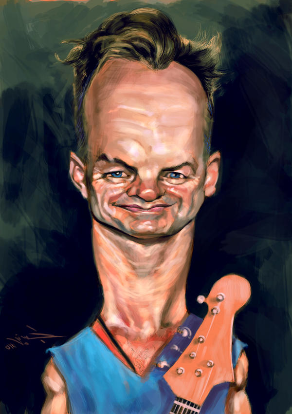 Sting by hussieny