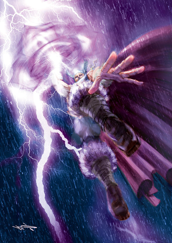 Thor by hussieny