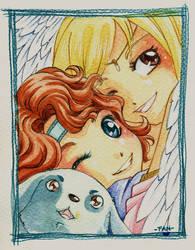Calegram's friends by FantasyHeart