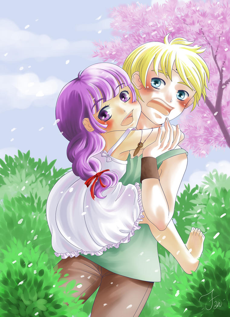 Tenderly Hug by FantasyHeart