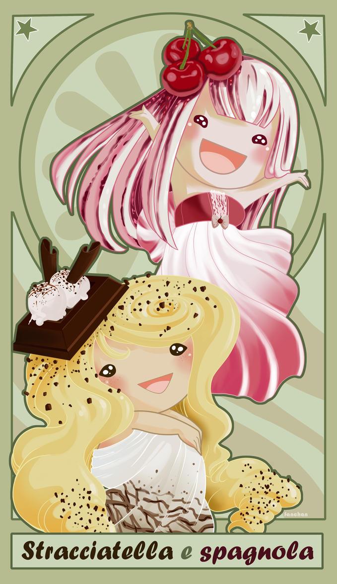 Stracciatella e Spagnola by FantasyHeart