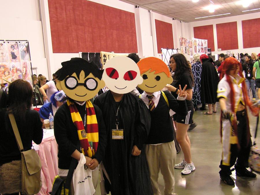 Fanime 2010:  Harry Potter by Diamondback6