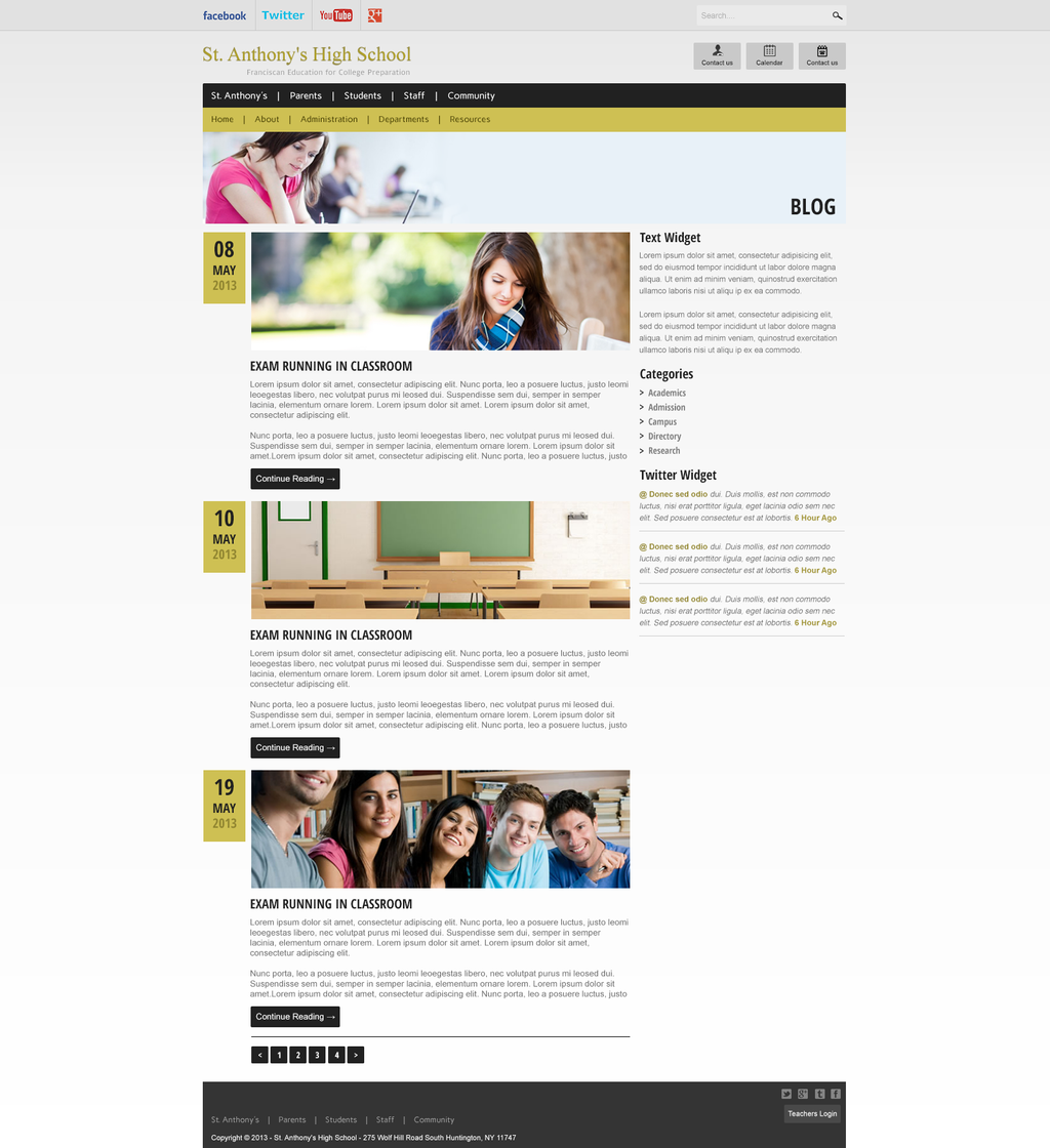blog page design by amrkhan blog page design by amrkhan - How To Design Blogs