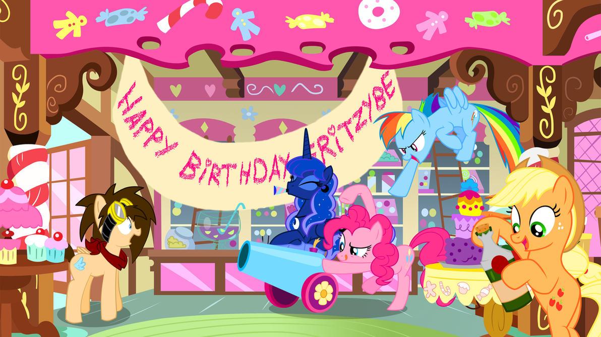 Happy Birthday FritzyBeat! by Makenshi179