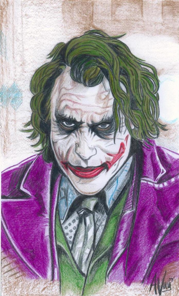 The Joker Color by avuu on DeviantArt