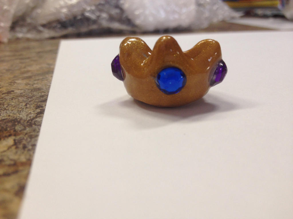 Contest entry (1/2) - 'Royals' inspired crown by muffinthehamster11