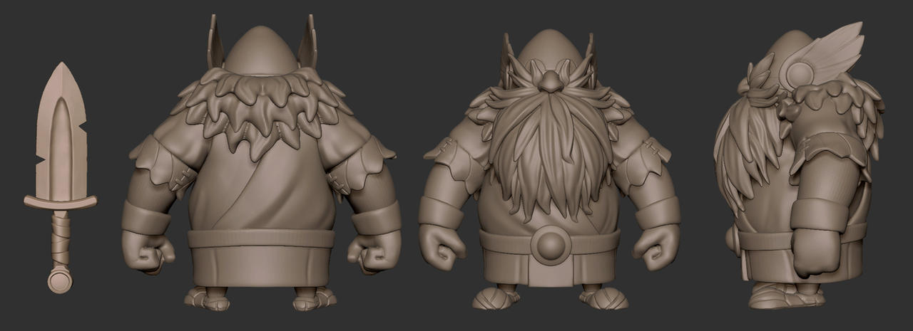 Viking_Daily_Sculpt_Views by Deoce