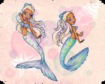 Down in the Waters Swim Mermaids Fair