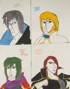 ToE - Heide Characters (Set 1)
