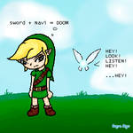Link and Navi oO