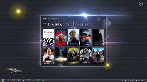 Latest movies on your desktop
