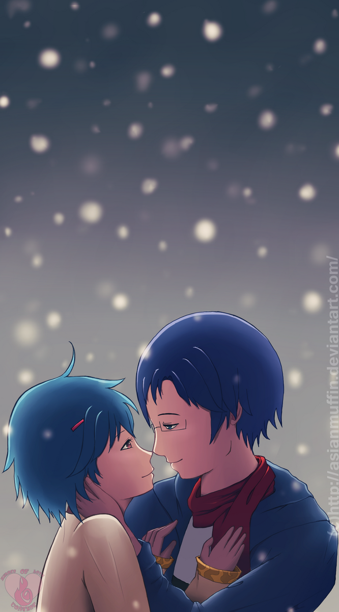 Winter Kiss by AsianMuffin