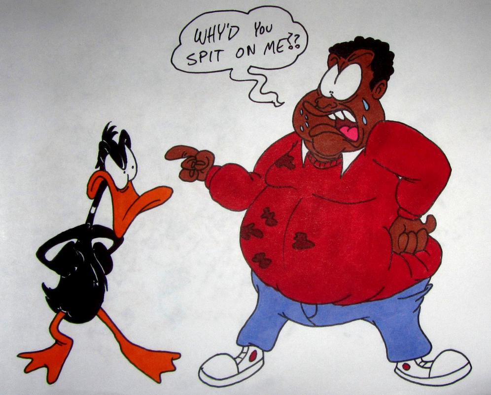 daffy_and_fat_albert_by_lotusbandicoot d63zz07 daffy and fat albert by lotusbandicoot on deviantart