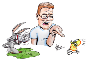 Judgement Day with Hank Hill by Lotusbandicoot