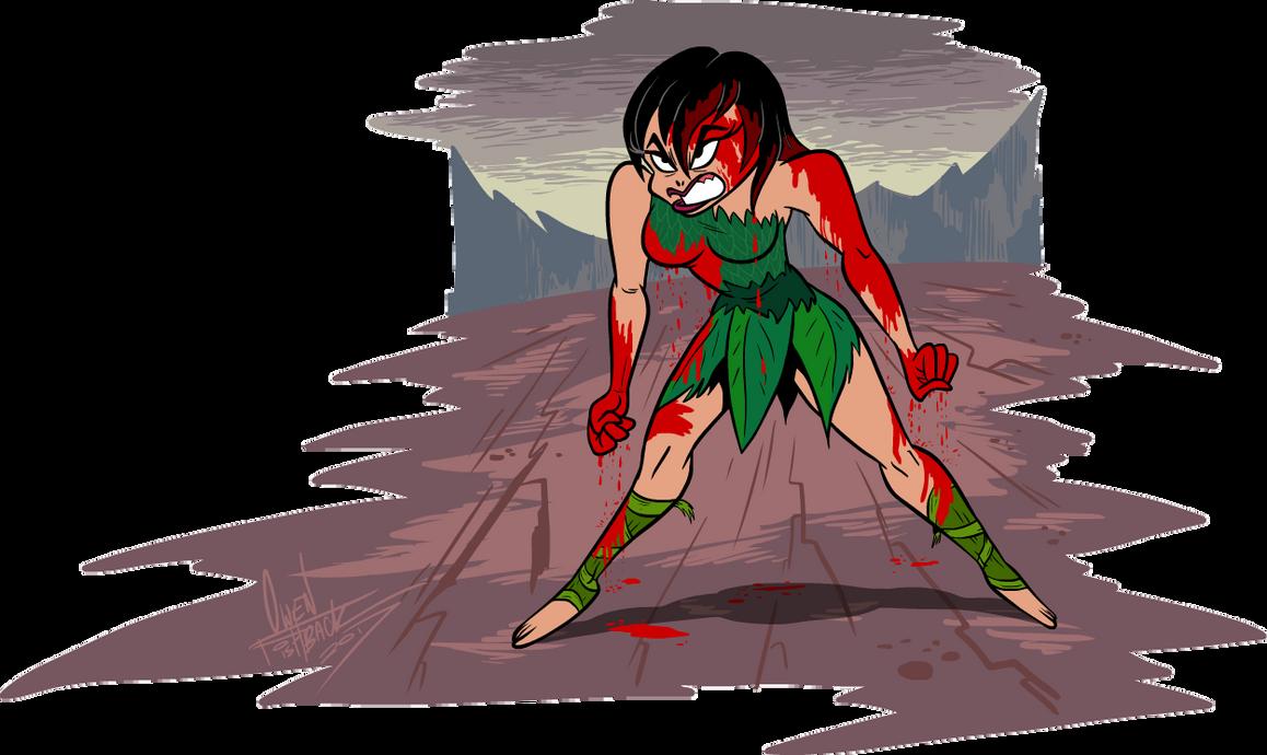 NEVER make Ashi mad. by Lotusbandicoot