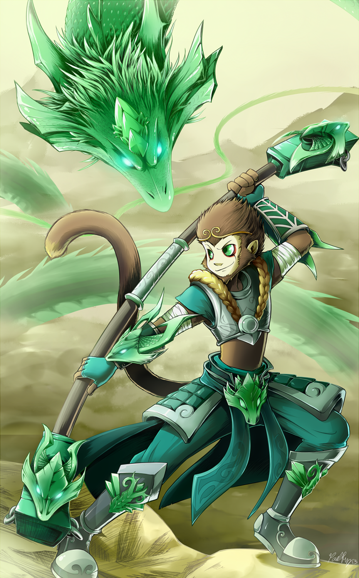 Jade Dragon by gaby14link