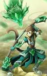 Jade Dragon by GaelRice