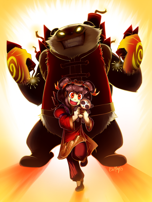 Panda Annie by gaby14link