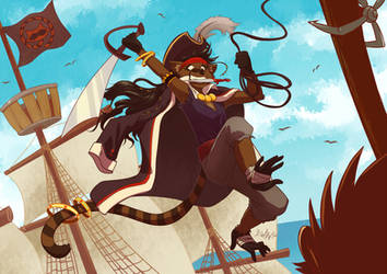 Pirate Monkoon by GaelRice