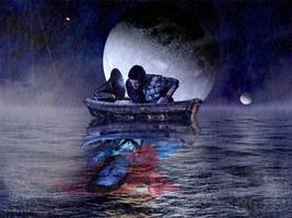Supernatural Destiel Illustration Sleep Dean by Senseye00