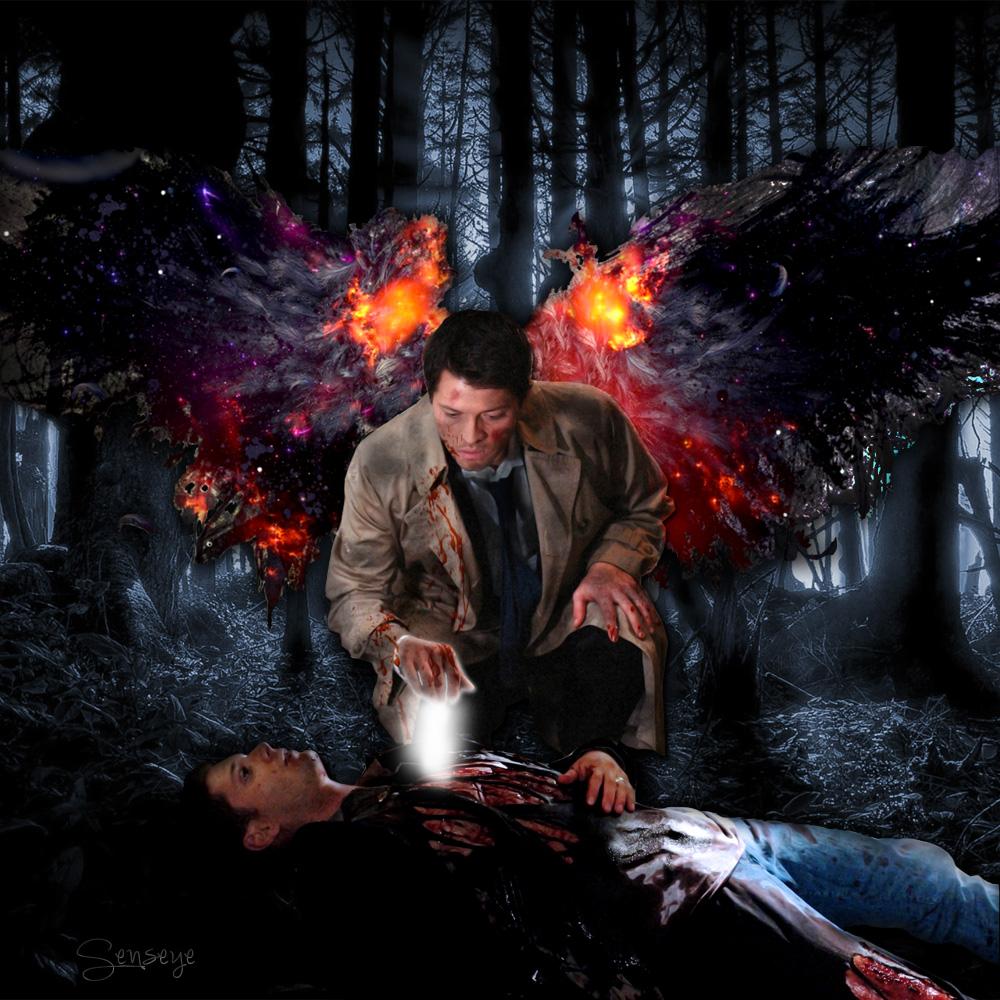 Supernatural Destiel Healing by Senseye00