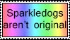 Sparkledog stamp by Trollberserker