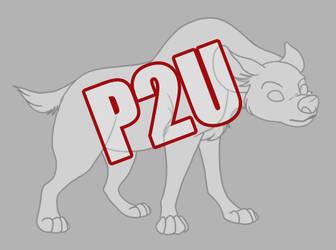 P2U TLK hyena base by Trollberserker