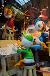 Huey Dewey and Louie At Alderwood Disney Store
