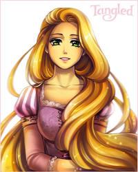 Rapunzel by Kay-I