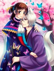 KH: My beloved Goddess by Kay-I