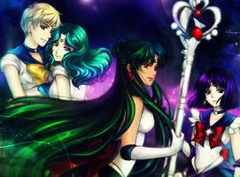 SM: Outer Senshi by Kay-I