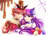PC: Cure Chocolat x Cure Macaron