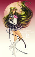 SM: Eternal Sailor Pluto by Kay-I