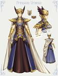 SM: Princess Uranus ref (of fanfic) by Kay-I