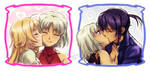 CANAAN: Two Kisses by Kay-I
