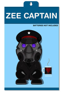 Zee Captain Toy Portrait  with Packaging