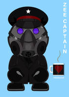 Zee Captain Toy Portrait without Packaging by ridzalzainal