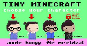 Tiny Minecraft by ridzalzainal