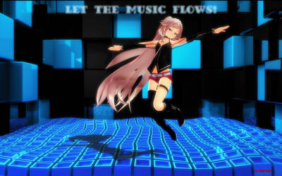 Let the music flows