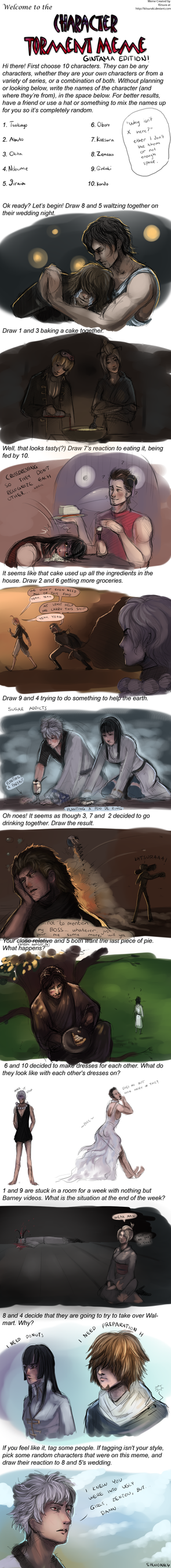 GINTAMA Character Torment meme by Shwonky