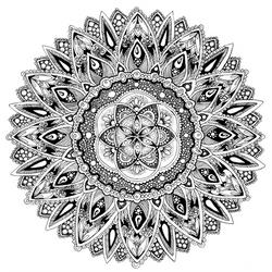 Flower Mandala by Tekslus