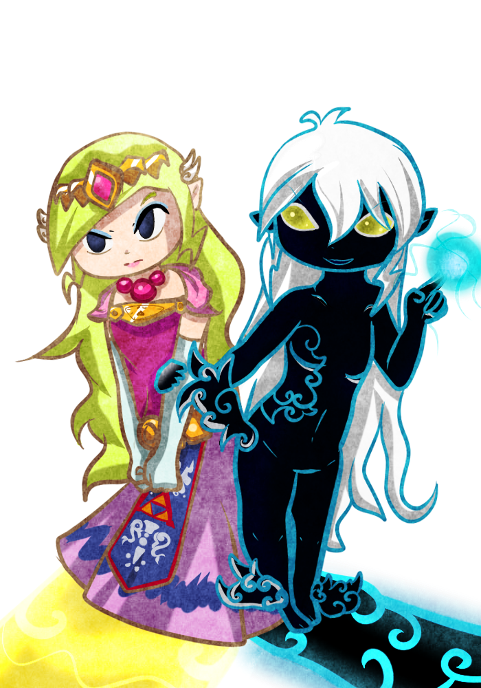 AT: The Princess and the Phantom ~ by TeLinkfan1