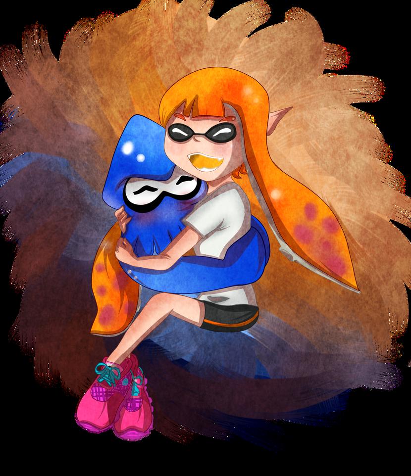 Squid Huggle ~ by TeLinkfan1