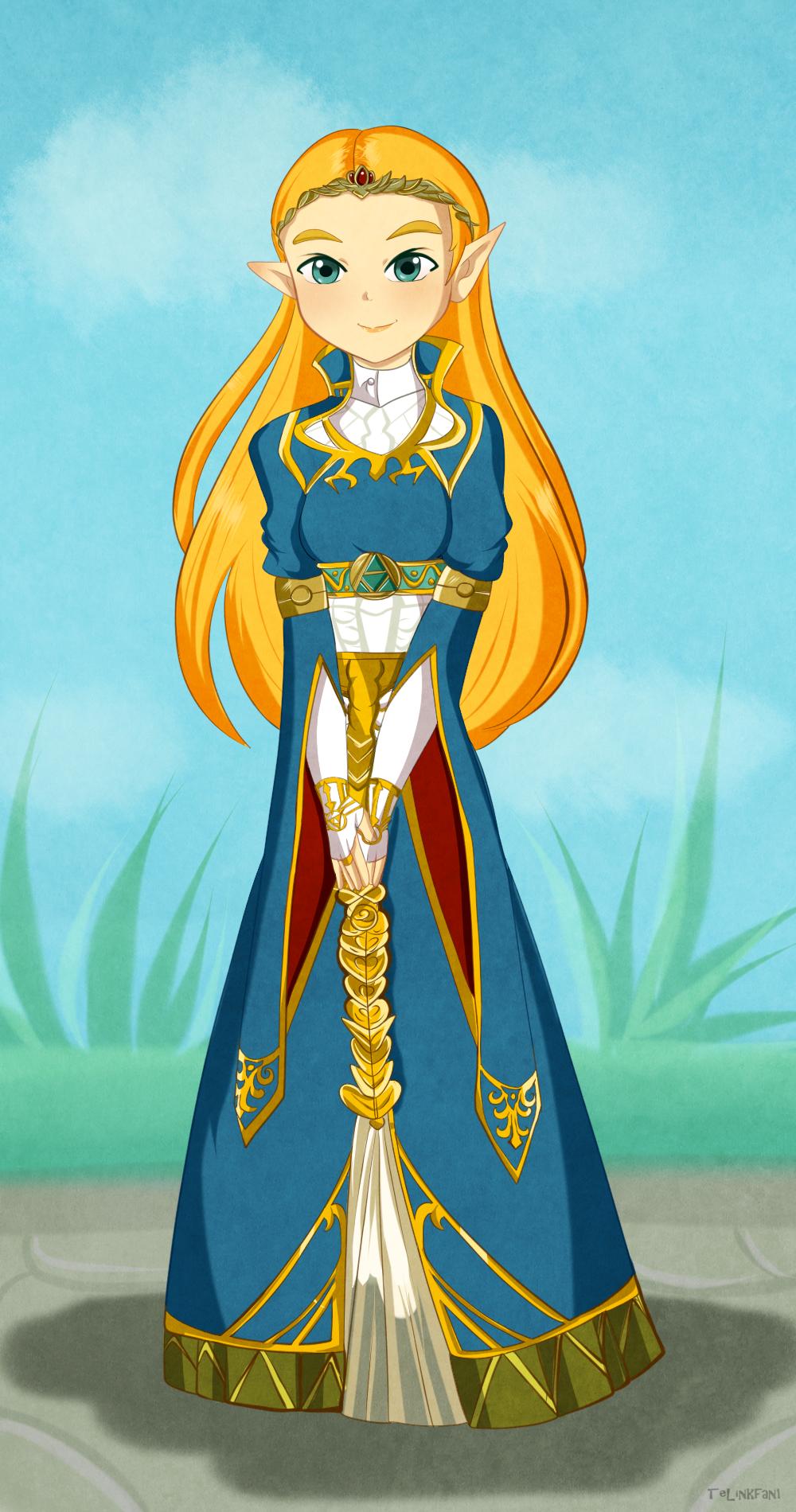 Princess Zelda by TeLinkfan1