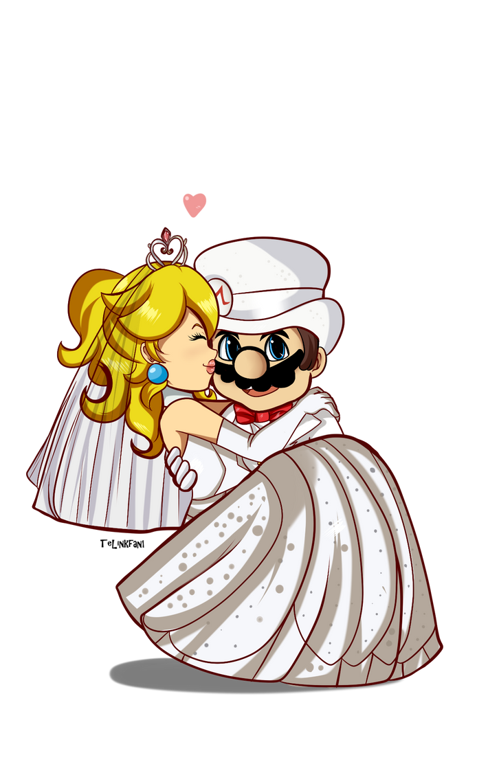 AT: Wedding Mario x Peach by TeLinkfan1 on DeviantArt