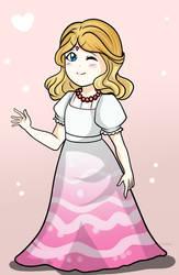 Inktober Day 16: Princess Zelda by TeLinkfan1