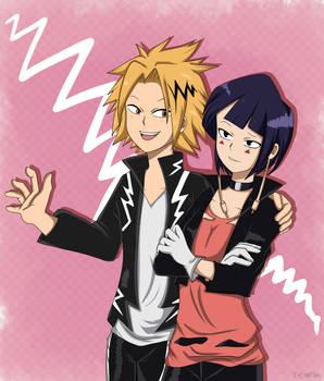 AT:  Kaminari and Jiro