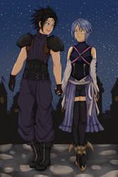 Commission: Aqua and Zack