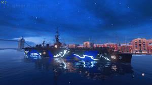 WoWS Fleet of Fog USS Saipan