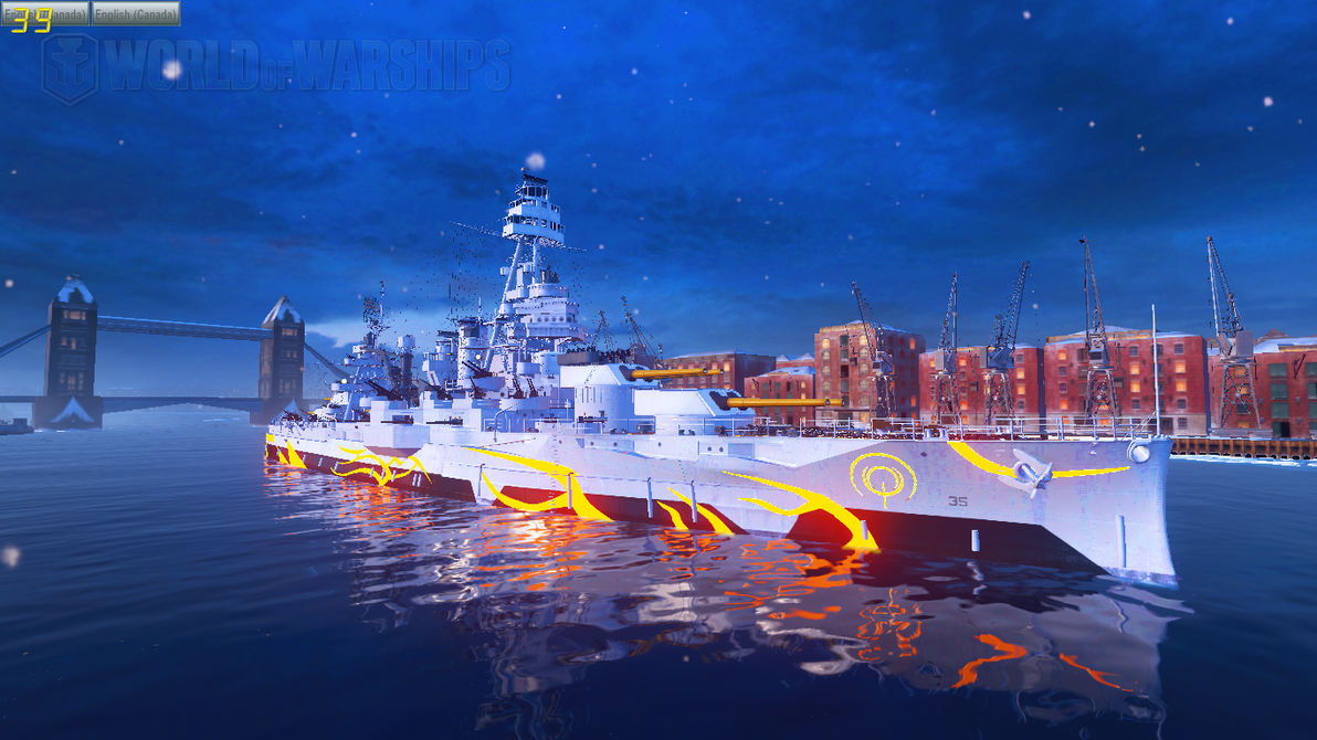 WoWS Fleet of Fog USS Texas by Scattergunsniper